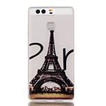 Luminous Night Eiffel Tower TPU Soft Case for Huawei Ascend P9