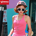 Women's Tank Sport Breathable / Sweat-wicking / Soft Yellow / White / Gray / Black / Blue / Fuchsia Yoga / Pilates /