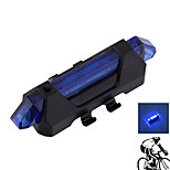 Bike Lights LED 4 Mode 15 Lumens Waterproof/Rechargeable/Small Size Others USB Camping/Hiking/Outdoor-Others,Blue