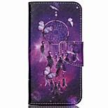 Cross Pattern Leather Wallet Case for Acer Liquid Jade Z - Dream Catcher