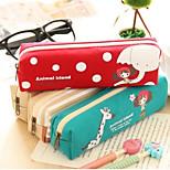 Girl Quadrate Pen Bag Pencil Case Restoring Ancient Ways Receive Bag Pencil Case