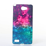 Starry Sky Pattern TPU+IMD Soft Case for LG L Bello 2