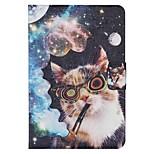 diseño de la novedad especial de cuero de la PU caso folio funda para el iPad mini-4