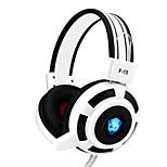 YORO F15 Gaming Headset Stereo Noise Cancelling with Microphone & Volume Control LED Lights for Pc/Notebook/laptop