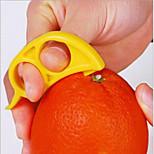 3Pcs New Easy Opener Lemon Orange Peeler Slicer Cutter Plastic Kitchen Tools Random Color