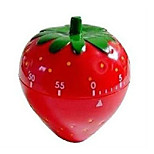 Cute Strawberry Shape Countdown Reminder 1pc Furniture Supplies Kitchen Timer