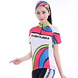 KEIYUEM®  Short Sleeve Spring / Summer / Autumn Cycling Clothing  / Breathable  Quick Dry