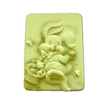 Rabbit  Shaped Bake Mold, W9.5cm x L7.6cm x H3.1cm