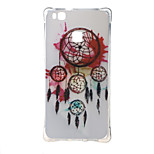 Dream wind chimes Shockproof as TPU soft shell cover Case for Huawei Ascend P9 lite P9 mini