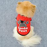 Cute Paw Design Warm Hooded Pet Coat