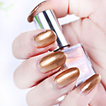 1pcs Punk Rock Face Metallic Nail Polish
