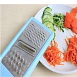 New 3 In 1 Multifunction Vegetable Fruit Cutter Slicer Shredder Veg Carving Tool Random Color