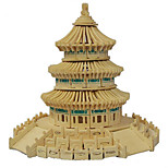 3D Puzzles Building Model Intelligence Wooden Jigsaw Puzzle Children'S Educational Toys The Temple Of Heaven