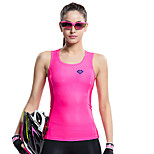 SANTIC Women's Cycling Tank Sleeveless Bike Summer Breathable / Ultraviolet Resistant / Quick Dry / Limits Bacteria Pink
