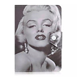 Marilyn Monroe Pattern 7 Inch Tablet Case Universal Leather Stand Case Cover For 7 Inch Tablet PC Magnetic Flip Cover