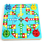 In Flight Animal Magnetic Maze Toys Wooden Chess Board Puzzle Children