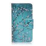 Apricot Tree Painted PU Phone Case for Huawei Y560
