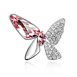 Z&X® Fashion Personality Butterfly Brooch Party / Daily / Casual 1pc