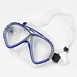 Glass and Plastic Materal Diving Mask for Adult(Random Colors)