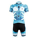 Kleidungs-Sets/Anzüge(Schwarz / Himmelblau) -fürAtmungsaktiv / UV-resistant / Rasche Trocknung / wicking / Videokompression / Leichtes