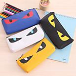 Cartoon Cat Eye Pencil Adorable Meow Star Stationery Bag