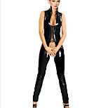Women Carnival / New Year Female More Costumes Costumes Leotard Leather Jumpsuit