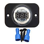 Digital Waterproof Led Voltmeter Spannungstester Drop Car