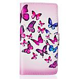 Butterfly Swarm Around Open Holster for LG Leon H340N/LG manga H502/LG spirit H 422