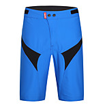 SANTIC Men's Cycling Bike Baggy shorts Baggy Shorts Breathable / Ultraviolet Resistant  / Limits Bacteria / Wicking Blue