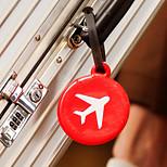 Portable Plastic Travel Storage/Luggage Tag 13*8*1(Random Shape and Colors)
