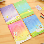 1PC Beautiful Dreams Notebook Lovely Creative Notebook Diary Stationery