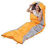 Hollow Cotton Nylon Taffeta Lining Single Rectangular Bag/Sleeping Bag for Camping and Hiking
