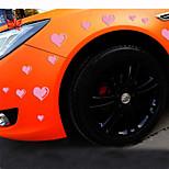 riflettenti romantiche auto adesivi amore personalità (15pcs / set)