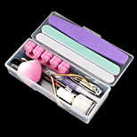 12PCS Nail Art All In Readiness Tool Kit(Random Colour)