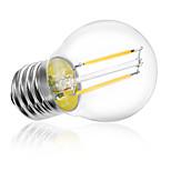 HRY® G45 2W E27 250LM 360 Degree Warm/Cool White Color Edison Filament Light LED Filament Lamp (AC220V)