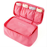 Portable Fabric Travel Storage/Packing Organizer for Bra/Underwear 28*16*15cm