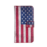 American or British flag Leather case Cover Wallet Card Slot Case for HTC Desire 500