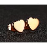 Heart Stainless Steel Earrings