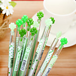 1PC Diamond Candy Color Love Neutral Pen Clovers Drill Stones Lovely Stationery(Random color)