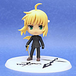 Fate/stay night Saber Lily 10CM Anime Action Figures Model Toys Doll Toy