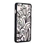 Retro Lily Pattern Openwork Relief Printing PC Material Phone Case for iPhone 6 /iPhone 6S