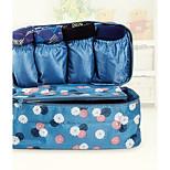 Portable Fabric Travel Storage/Packing Organizer for Bra/Underwear 28*14*15cm