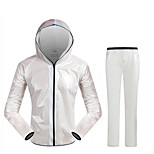 Cycling Raincoat Rain Pants Suit Ultra-thin Ultra-light Outdoor Male Money Raincoat