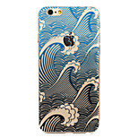 The Sound Of Billows Painted Pattern Hard Plastic Back Cove For iPhone6Plus/6SPlus 5.5