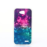 Starry Sky Pattern TPU+IMD Soft Case for LG L90/H422/H502