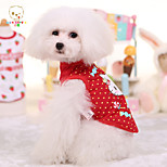 New Pet Dog Clothes Puppy Vest Summer Cartoon T-shirt Pet Shirt Cute Cat Pattern Cotton Cat Clothes