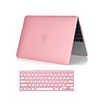 2 in 1 kristallklare Soft-Touch-Ganzkörper-Gehäuse mit Tastatur-Abdeckung für MacBook Pro 13