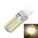 G9 Silicone seal 5W 500lm 3500K/6500k 48x SMD2835 LED Warm/Cool White Light Bulb Lamp (AC220-240V)