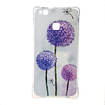 Mixed color dandelion Shockproof as TPU soft shell cover Case for Huawei Ascend P9 lite P9 mini