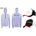 Outdoor Sports Casual Fishing Gear sun-protective clothing  Long Sleeve Jacket With Fishing Hat(Price=Jacket+Hat)